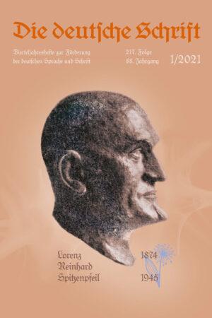 Die deutsche Schrift 1/2021