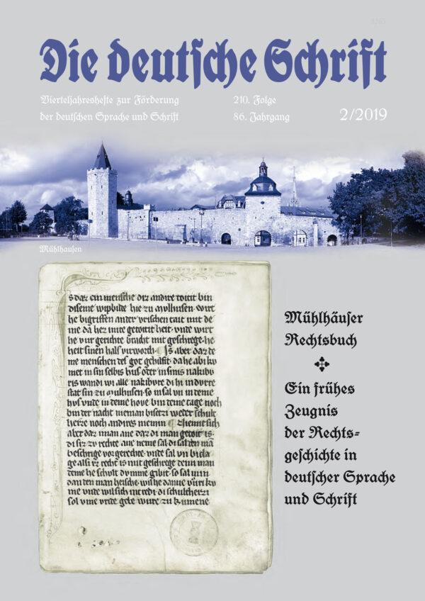 Die deutsche Schrift 02-2019