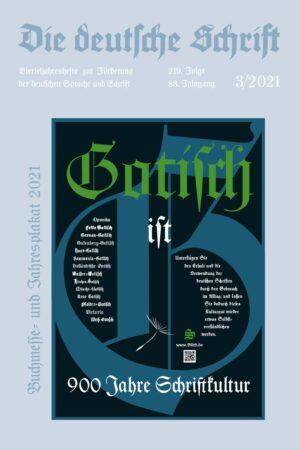 Die deutsche Schrift. Zeitschrift 3-2021